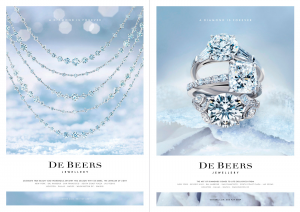 Jewelry Giant De Beers Embark On A Multichannel Marketing Strategy Every Christmas Holiday Season The Diamond Is Forever Campaign Appears Year